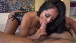 Large boobs mature Kiara Mia raw ass fucked flashing in HD