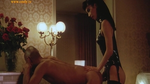 Femdom together with very sexy asian mistress
