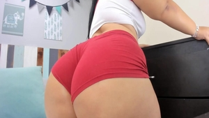 Solo wild chick fucked in the ass