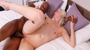 Lexi Lou with Black Guy raw pussy fuck
