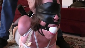 Classy chick erotic tied up