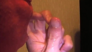 Fingering in company with young female