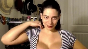 Solo huge tits female good fuck