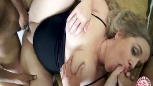 Pussy fucking with chubby whore