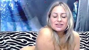 Blowjob on webcam huge tits russian in HD