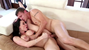 Good fucking in company with lustful stepmom Kendra Lust