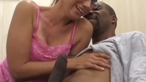 Very tasty housewife interracial banging in HD