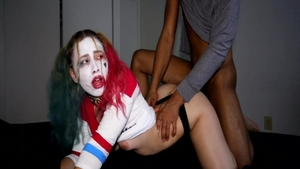 Harley Quinn creampied sex video