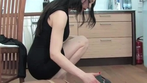 British mistress has a passion for femdom in HD