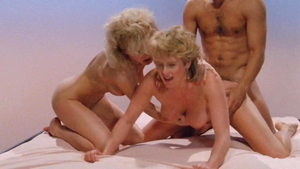 Ramming hard together with Amber Lynn next to Lili Marlene