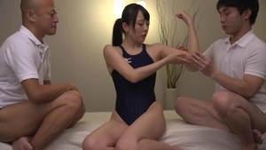 Very kinky japanese need gets pussy sex in swimsuit HD