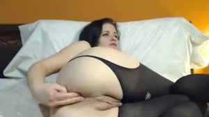 Big tits female double penetration live on cam