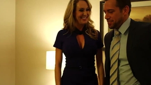 Real sex with Brandi Love along with Johnny Castle
