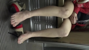 Rough nailing along with very kinky amateur
