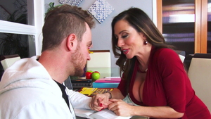 Busty Ariella Ferrera has a passion for doggy style