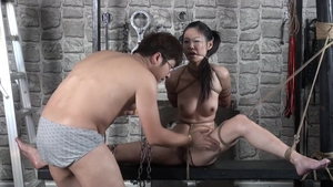 Very small tits japanese brunette uncensored female orgasm