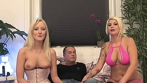 Threesome at the castings