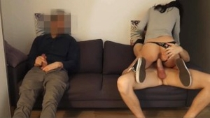European brunette wishes for good fucking in HD