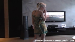 Sex scene along with pretty teen