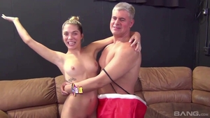 Ramming hard in the company of big ass mature