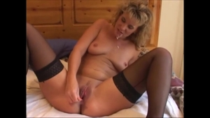 Sex scene in the company of big ass housewife