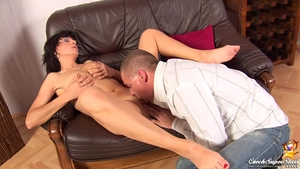 Shaved czech hard pussy fuck