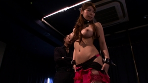Rough pussy sex along with busty asian Tarra White