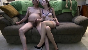 Young amateur gets a buzz out of sex scene HD