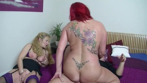Threesome at the casting
