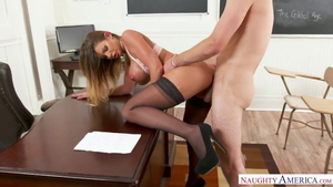American Brooklyn Chase getting smashed very nicely