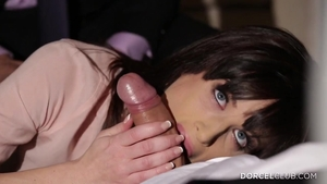 Gangbang with very hot stepmom Ava Courcelles