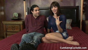 Hawt mature Dana Dearmond domination interracial fuck