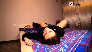 CFNM strapon starring very hot russian brunette Polly Sweet HD