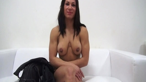 Solo muscle czech chick gets plowed