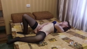Lonely wife lusts fucking