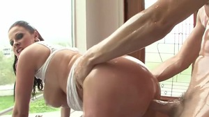 Plowing hard escorted by busty pornstar Gianna Michaels