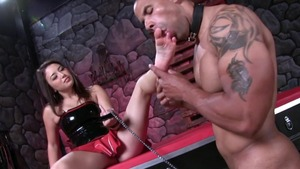 Mistress has a soft spot for rough fucking