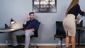 Big butt Nicole Aniston raw good fuck in office