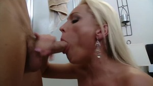 Anna Doll escorted by Dianna Doll sucking dick HD